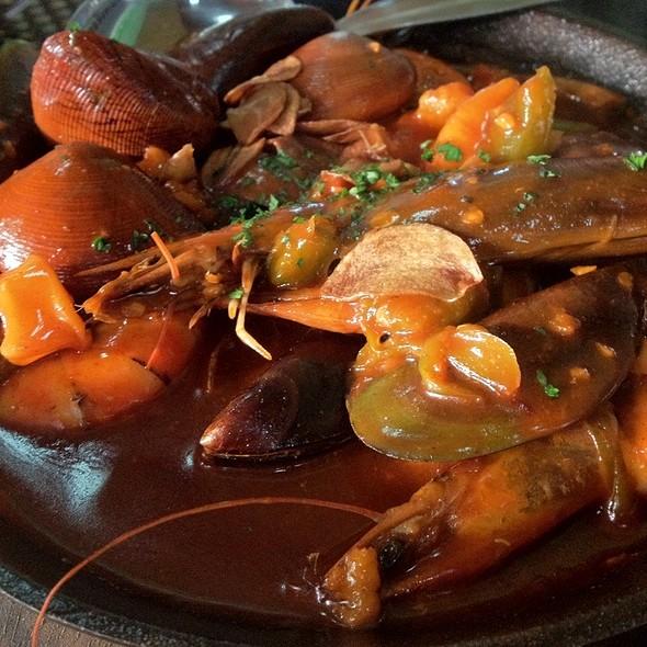 Seafood Sisig @ Chef Boy Logro
