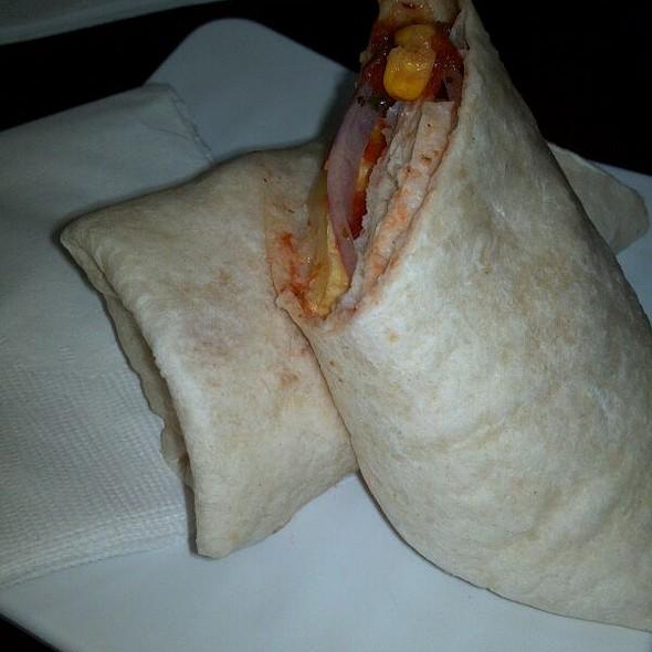 Southwest Breakfast Burrito @ Sweet Bay Coffee Co
