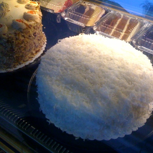Coconut snowball cake @ Carrot Top Pastries