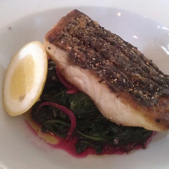 Wild Striped Bass @ Vine Street Cafe