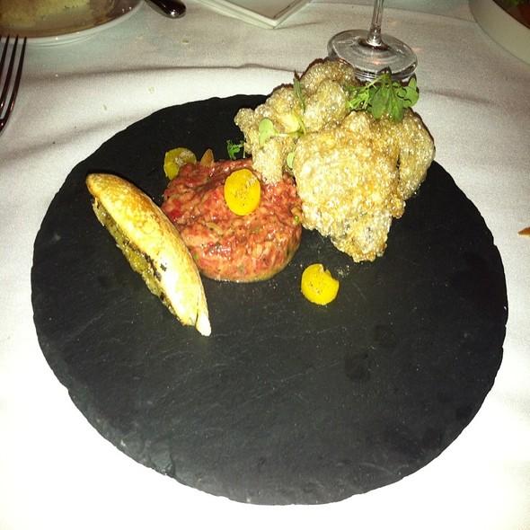 steak tartare - McCrady's Tavern, Charleston, SC