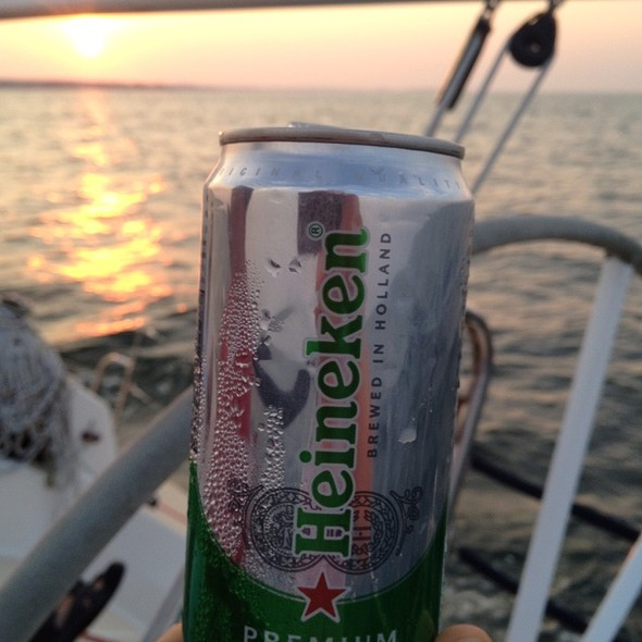 Heineken Light Beer @ Scituate Harbor
