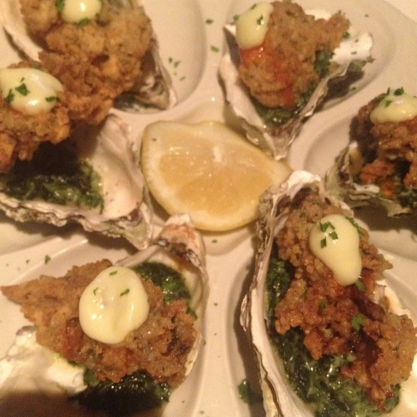 Oysters St. Charles @ Hillstone