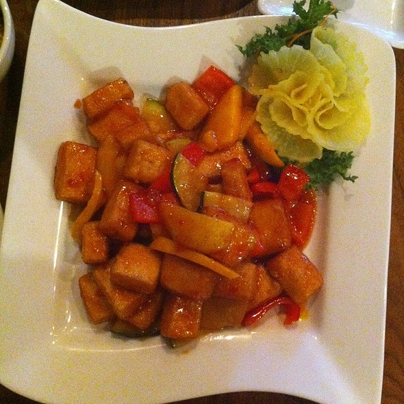 Spicy Thai Mango Tofu @ Sabi