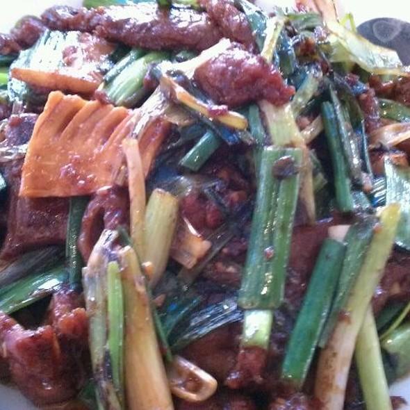 Mongolian Beef @ Panda Inn