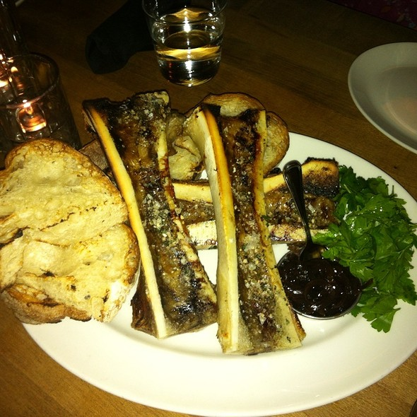 Bone Marroe With Red Onion Jam @ Gilt Bar