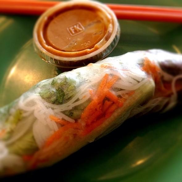 Tofu Salad Rolls @ Saffron