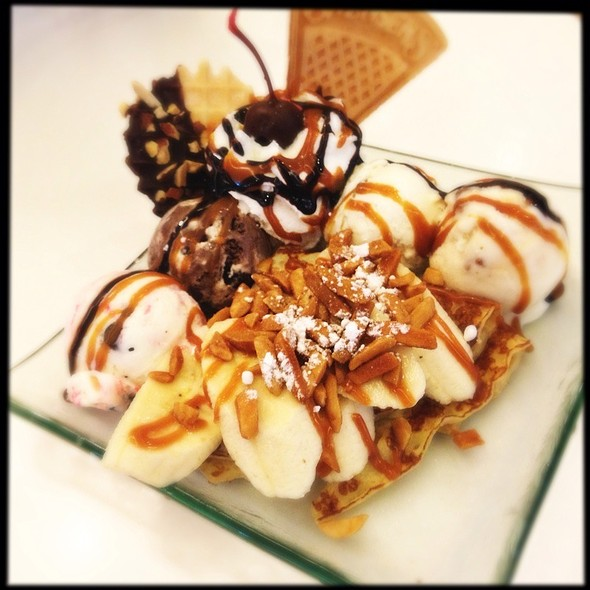 Nutty Banana Crepe