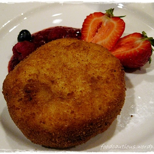 Deep Fried Icecream @ Flower Drum