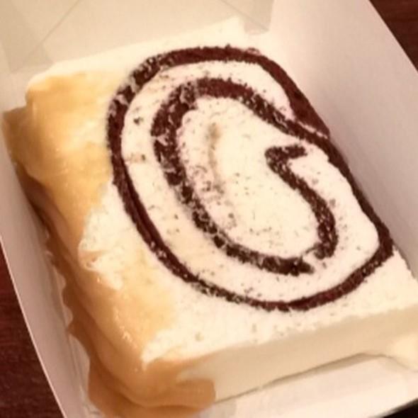 Slice Of White Chocolate Butterscotch  @ Awfully Chocolate