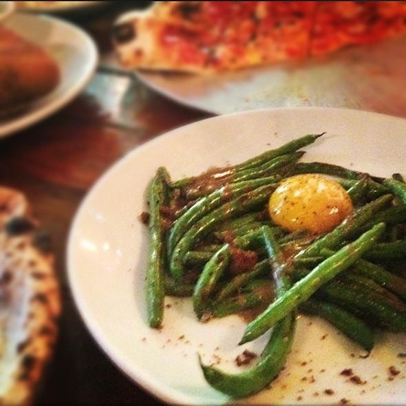 String Beans Special @ Roberta's
