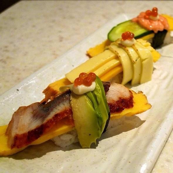 Tamago Trio @ Sakae Sushi