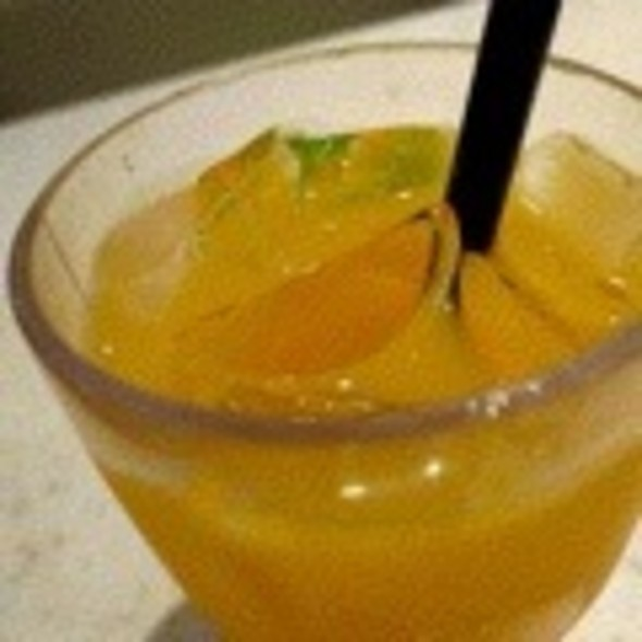 Sjora Mango Peach Fusion Drink @ Sakae Sushi