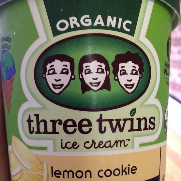 Lemon Cookie Ice Cream @ Three Twins Ice Cream