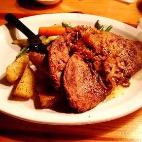 Liver And Onions - Renaissance Cafe, Assaria, KS
