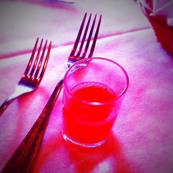 Watermelon And Pistachio Gazpacho - Room 39 - Leawood, Leawood, KS