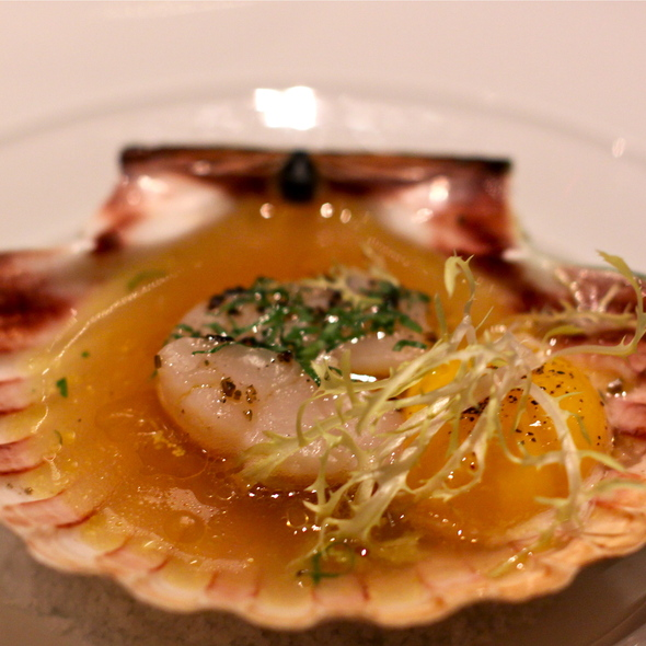 Scallop @ Gunther's Modern French Cuisine