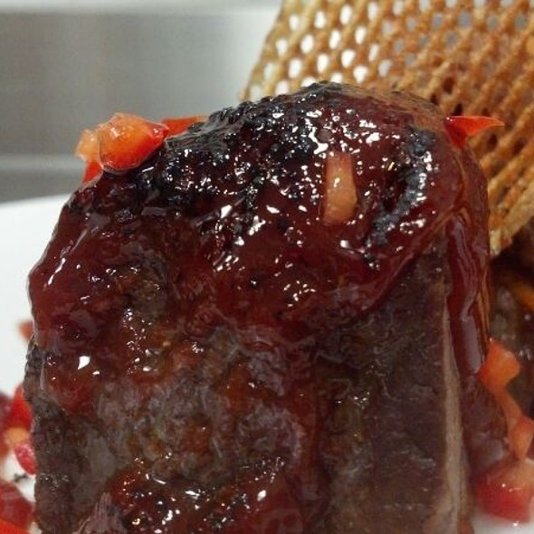Birch Beer BBQ grilled Shortribs @ 63 Bistro