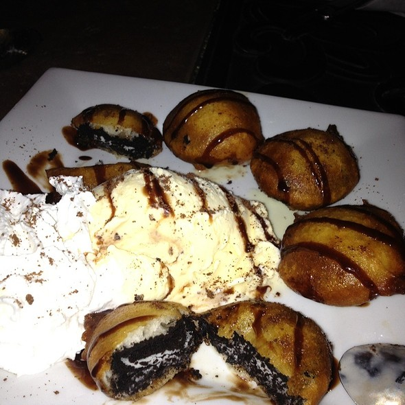 Fried Oreos! - O Steaks and Seafood, Laconia, NH
