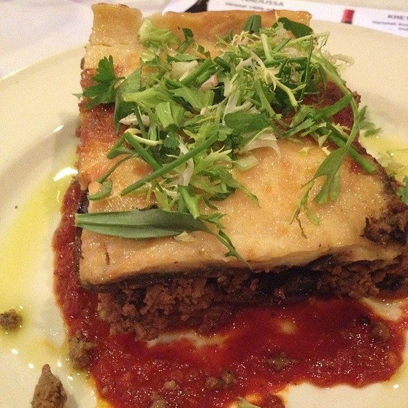 Moussaka - The Greek Mediterranean Steak & Seafood, Ventura, CA