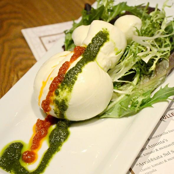 Burratina Fresca @ Nico's spuntino bar + restaurant