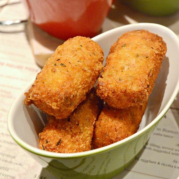 Crocchette di Patate,ham and cheese potato croquette @ Nico's spuntino bar + restaurant