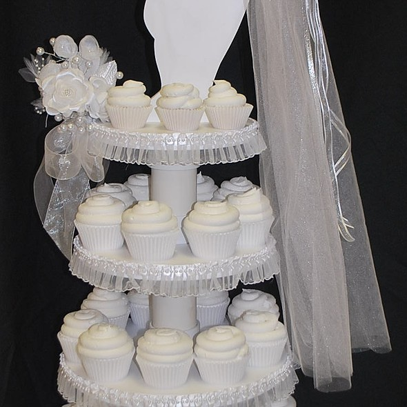 SweetTpieS Dessert Studio - Bridal Shower CupCake Tower - Foodspotting