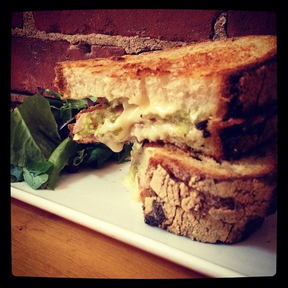 Grilled Ham And Cheese @ 61 Local
