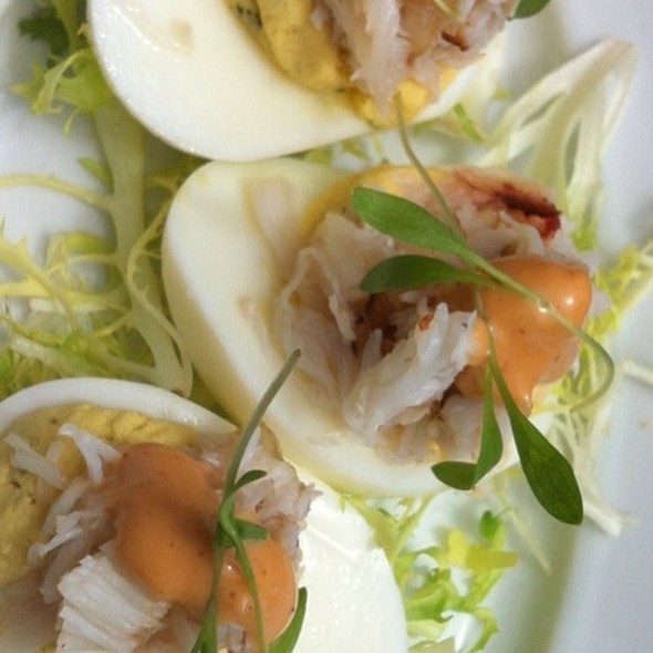 Dungeness Crab Deviled Eggs @ MarketBar