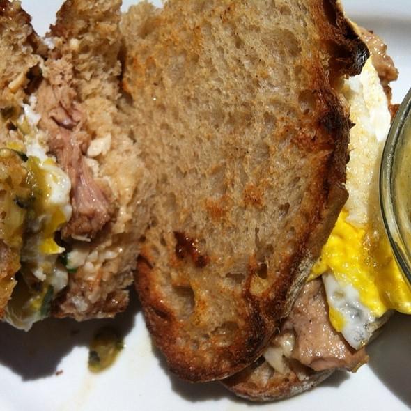 Pork Egg Sandwich @ MarketBar
