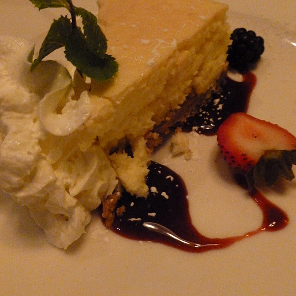 Key Lime Cheesecake @ Mile High Steak & Seafood