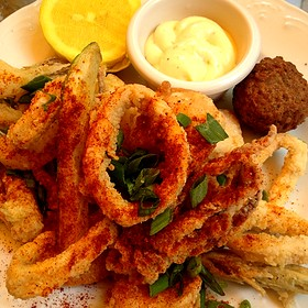 Fried Seafood Appetizer