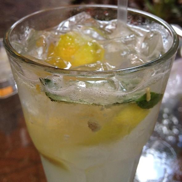 Basil Infused Lemonade - Peacock Garden Cafe, Coconut Grove, FL