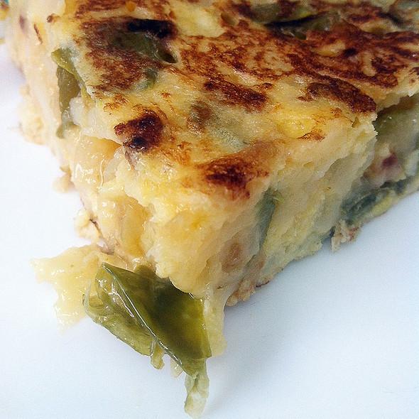 Spanish Omelette @ O'boi