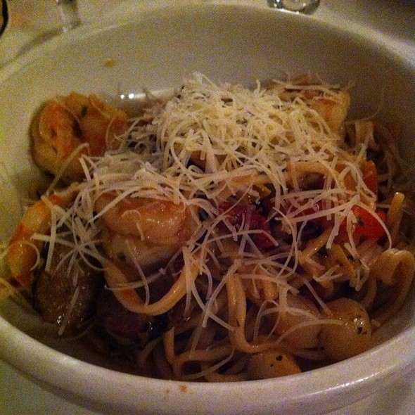 Pasta With Shrimp And Sausage - IL Mito Enoteca, Wauwatosa, WI