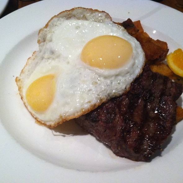 Steak, Eggs, And Crispy Homefries @ Jane