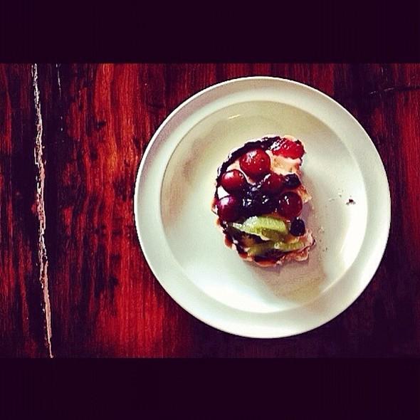 Fruit Tart @ Caboose Cafe & Bakery