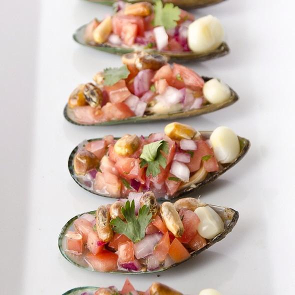 Choritos a la Chalaca @ Fusion And Flavors Peruvian Restaurant