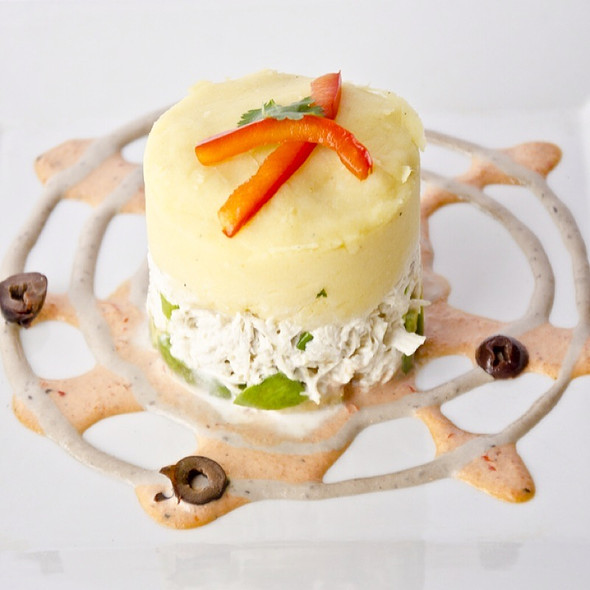 Chicken Causa @ Fusion And Flavors Peruvian Restaurant