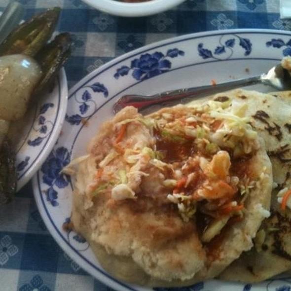 Pupusas @ Chalateco Restaurant