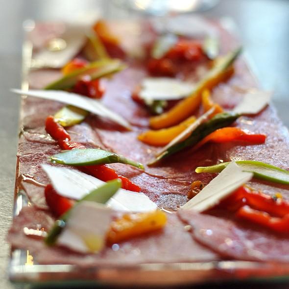 Beef Carpacio @ Asellina Ristorante