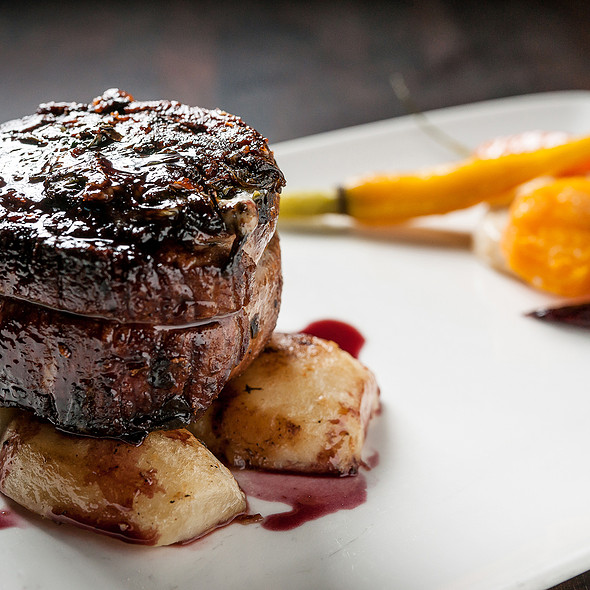 Grilled Beef Steak Tagliata @ Asellina Ristorante