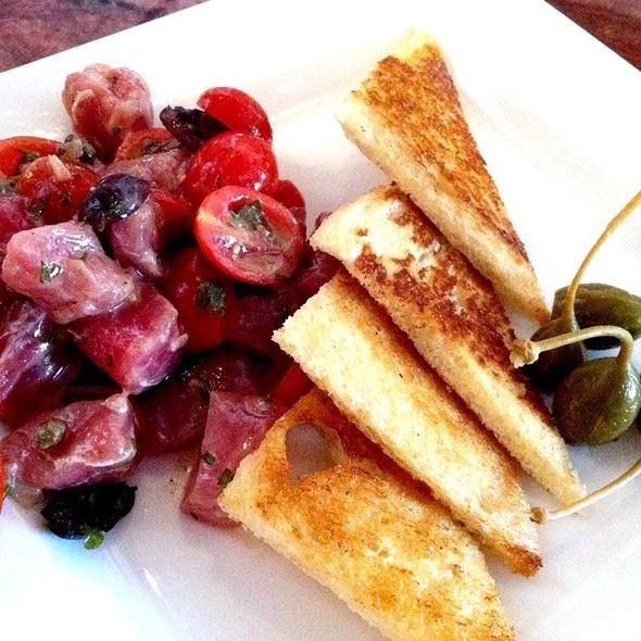 Ahi Tuna Crudo - Currant American Brasserie, San Diego, CA