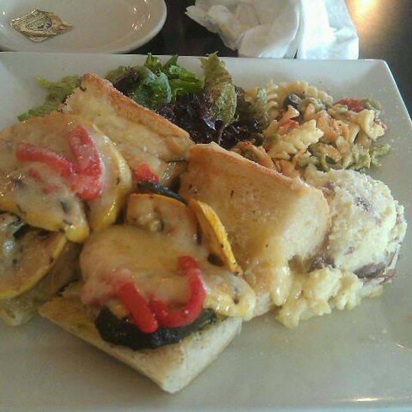 Grilled Vegetable Sandwich @ Cafe Pierrot