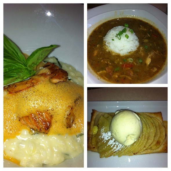 Chicken Gumbo, Seafood Risotto, And Apple Tart @ Smok'n Mike's Real Bar BQ