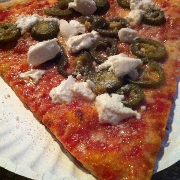 Goat Cheese and Jalapeño Pizza