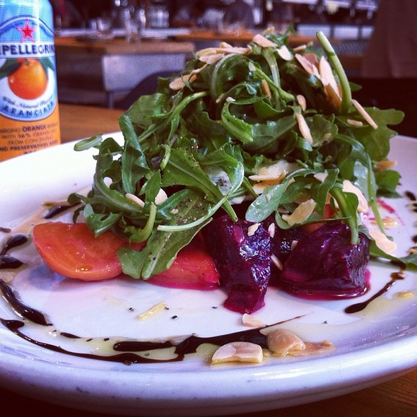 Beet And Arugula Salad @ Trattoria Mercatto