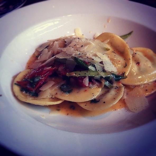 Asparagus And Ricotta Ravioli @ Trattoria Mercatto