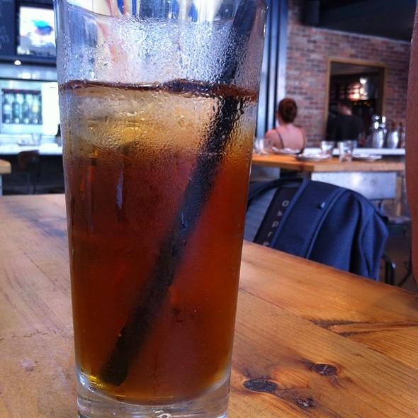 Iced tea @ Trattoria Mercatto