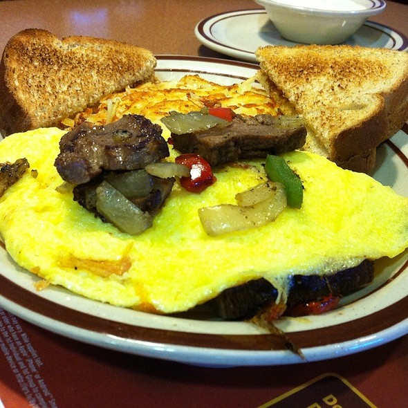 Philly Cheese Steak Omelete